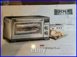 Wolf Gourmet Elite Countertop Oven Convection New Sealed WGCO150S