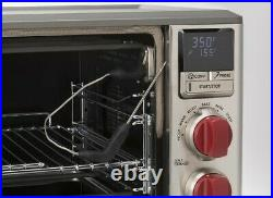 Wolf Gourmet Elite Digital Countertop Convection Oven New (WGCO150S) RED KNOBS