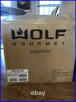 Wolf Gourmet WGCO150S Elite Countertop Oven Brand New In Box
