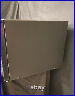Wolf MC24 1.5 cu. Ft. 24 Countertop Microwave Oven Black Glass Trim