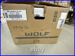 Wolf Microwave Oven MS24