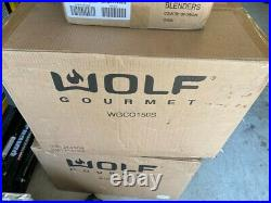 Wolf gourmet elite countertop convection oven red knobs, new in unopened box