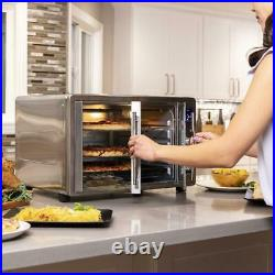 XL Countertop Turbo Convection Toaster Oven with French Doors and Digital Display